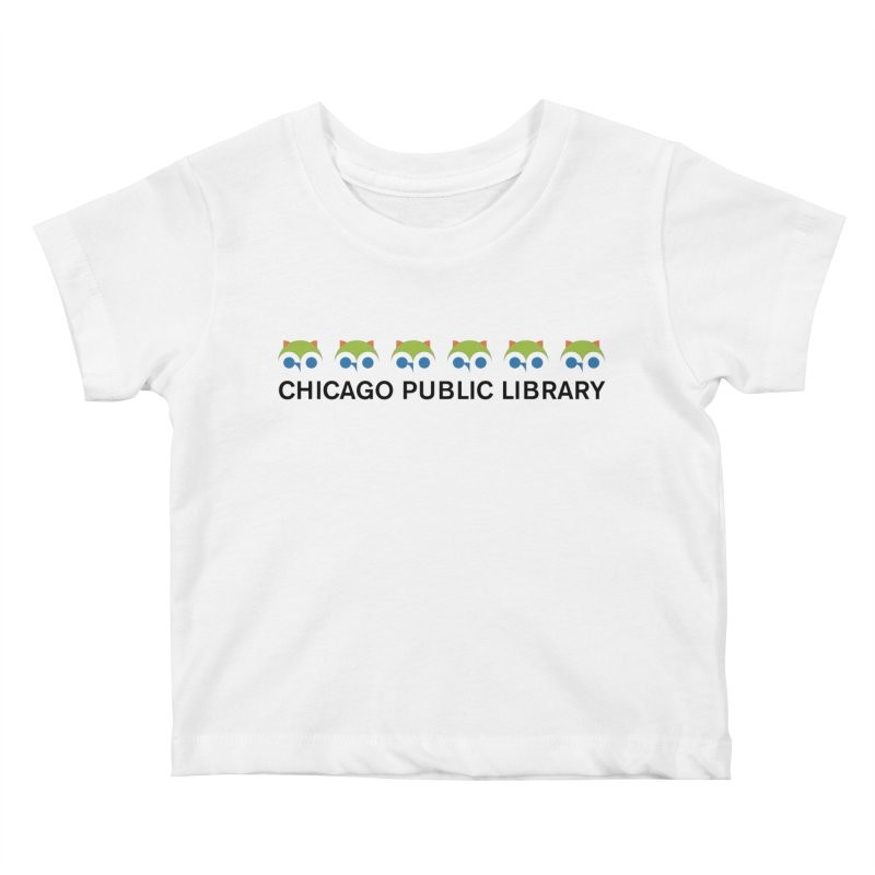 CPL Owl Row Kids Baby T-Shirt by Chicago Public Library Artist Shop