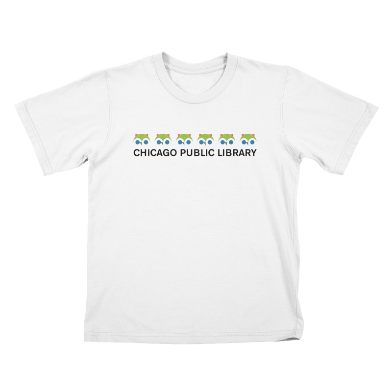 CPL Owl Row Kids T-Shirt by Chicago Public Library Artist Shop