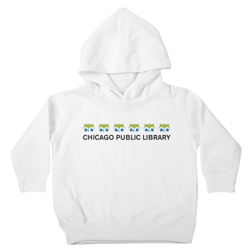 CPL Owl Row Kids Toddler Pullover Hoody by Chicago Public Library Artist Shop