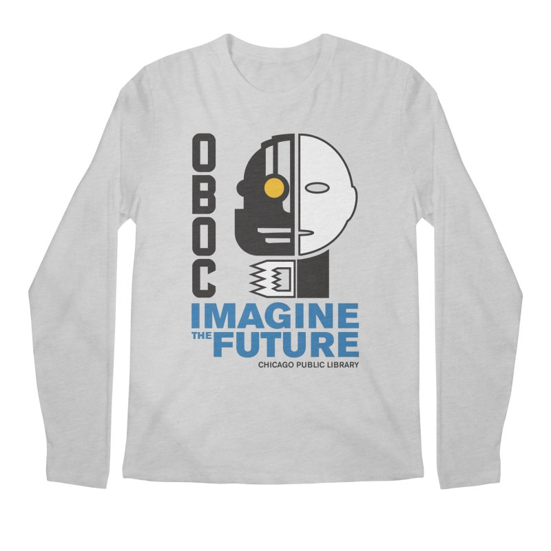 One Book, One Chicago 2018 Imagine the Future Cyborg Men's Regular Longsleeve T-Shirt by Chicago Public Library Artist Shop