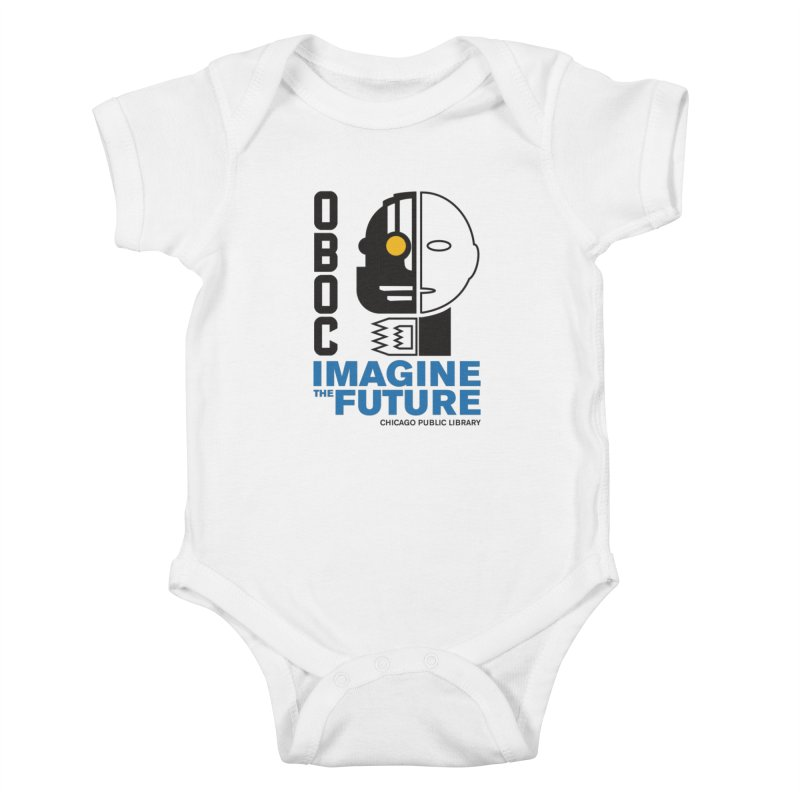 One Book, One Chicago 2018 Imagine the Future Cyborg Kids Baby Bodysuit by Chicago Public Library Artist Shop