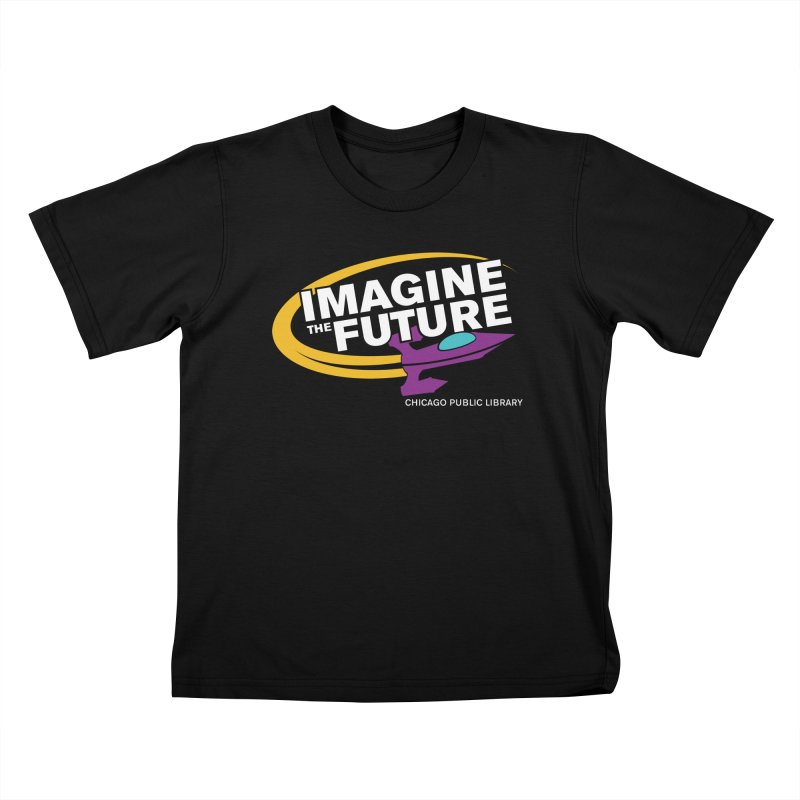 One Book, One Chicago 2018 Imagine the Future Rocket Kids T-Shirt by Chicago Public Library Artist Shop