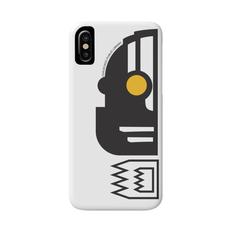 One Book, One Chicago 2018 Cyborg Accessories Phone Case by Chicago Public Library Artist Shop