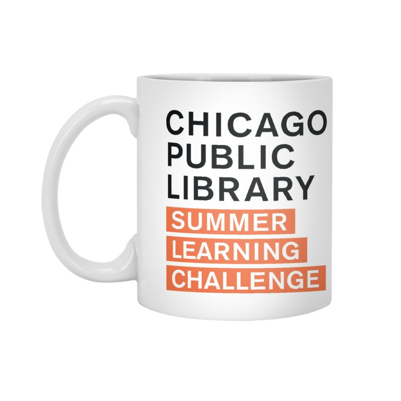 CPL Signature Program Summer Learning Challenge Accessories Mug by Chicago Public Library Artist Shop