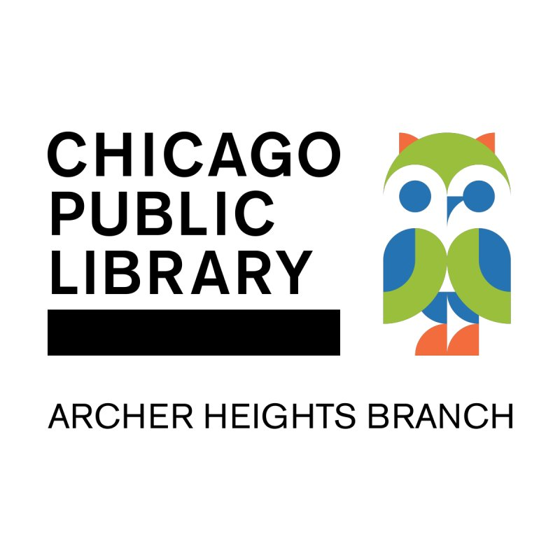 Archer Heights Branch Accessories Bag by Chicago Public Library Artist Shop