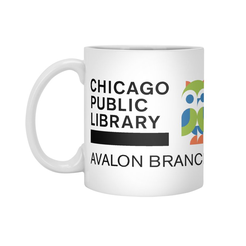 Avalon Branch in Standard Mug White by Chicago Public Library Artist Shop