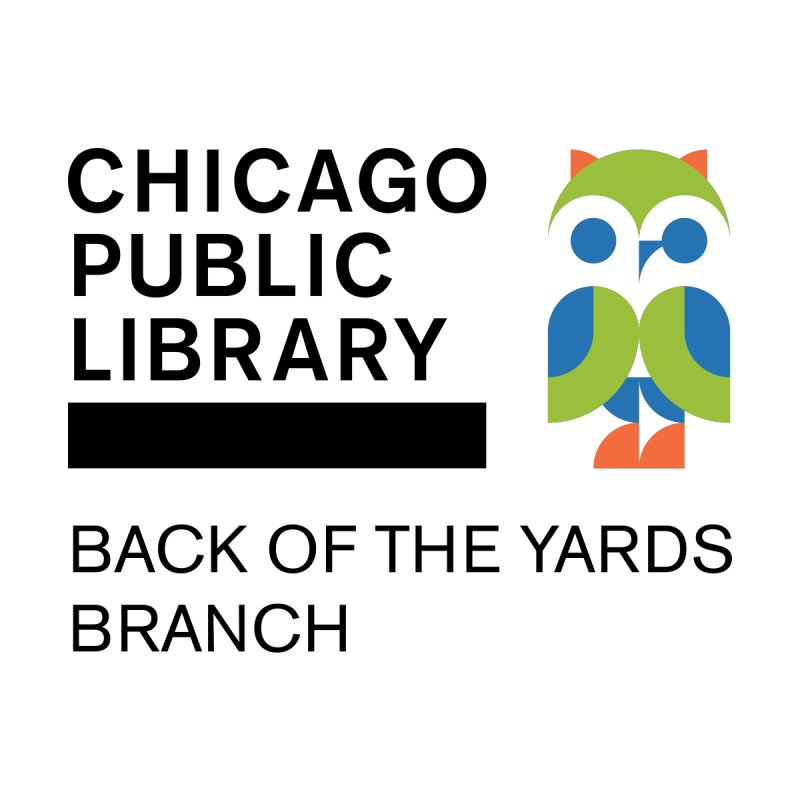 Back of the Yards Branch Accessories Bag by Chicago Public Library Artist Shop
