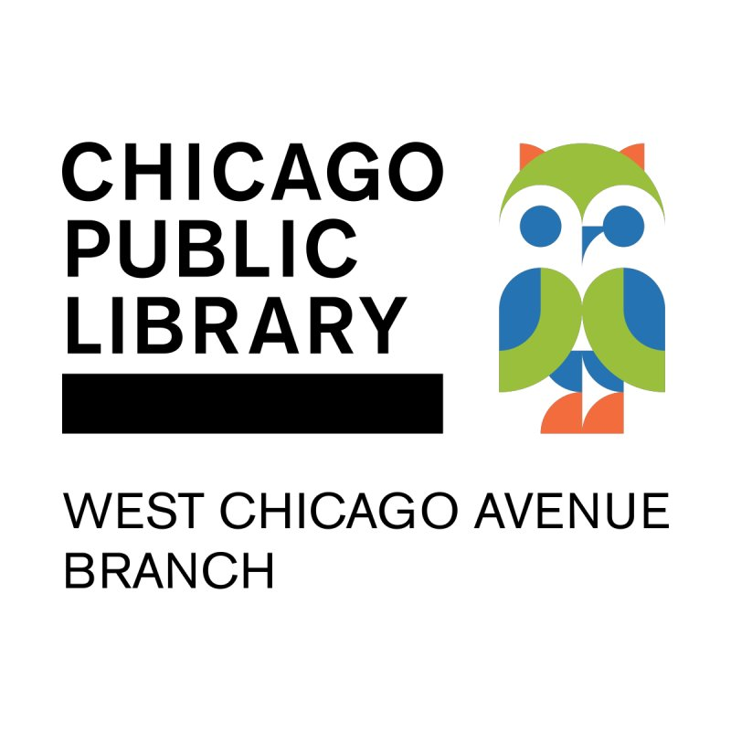 West Chicago Avenue Branch by Chicago Public Library Artist Shop