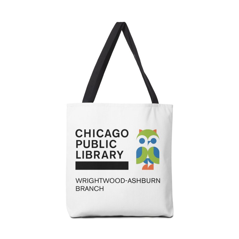 Wrightwood-Ashburn Branch Accessories Tote Bag Bag by Chicago Public Library Artist Shop