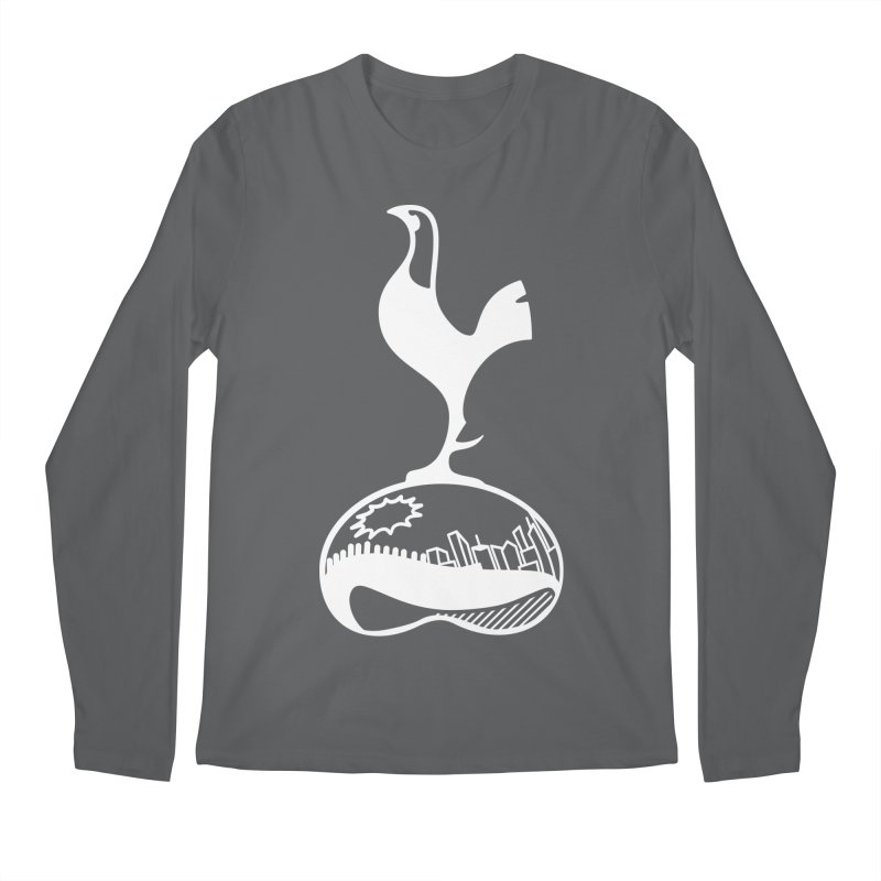 Logo White Men's Longsleeve T-Shirt by chicagospurs's Artist Shop