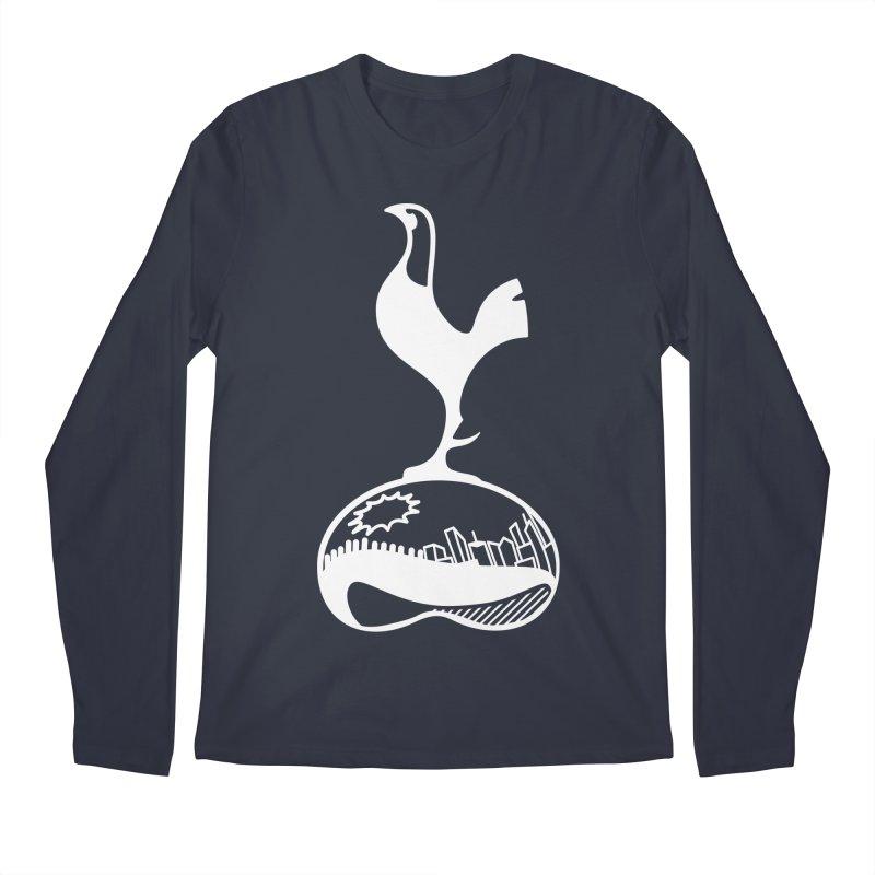 Logo White Men's Longsleeve T-Shirt by chicagospurs's Artist Shop