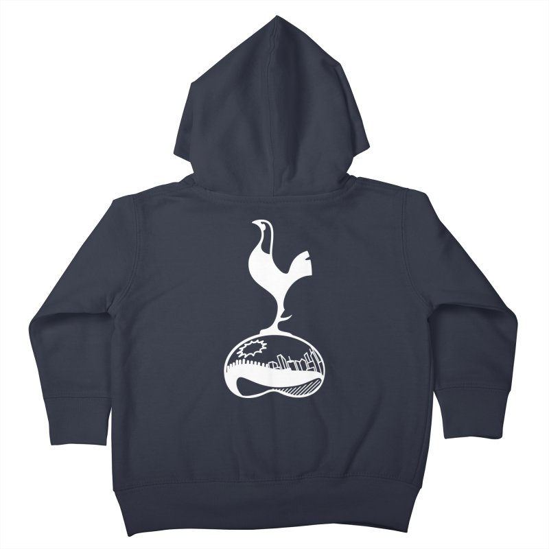 Logo White Kids Toddler Zip-Up Hoody by chicagospurs's Artist Shop