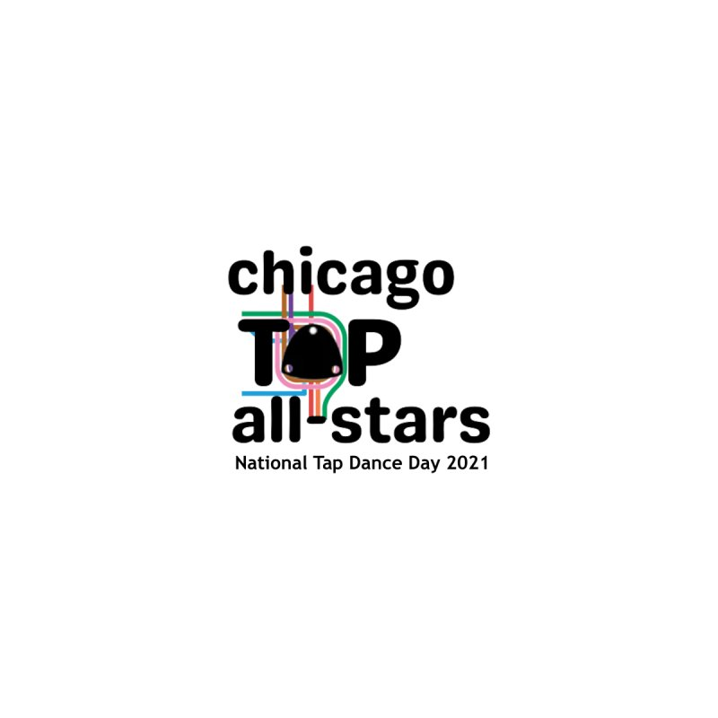 Chicago Tap All-Stars T-shirt Men's T-Shirt by Chicago Tap All-Stars Merchandise