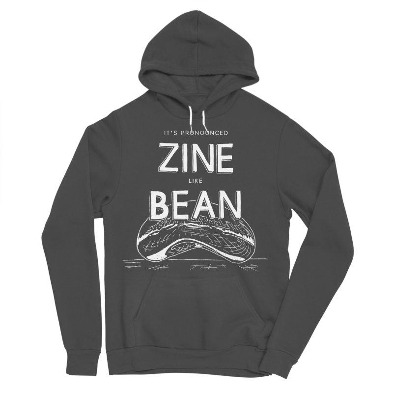 CZF - It's Pronounced Zine Men's Sponge Fleece Pullover Hoody by Chicago Zine Fest Merch