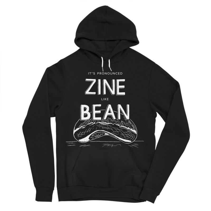 CZF - It's Pronounced Zine Women's Sponge Fleece Pullover Hoody by Chicago Zine Fest Merch