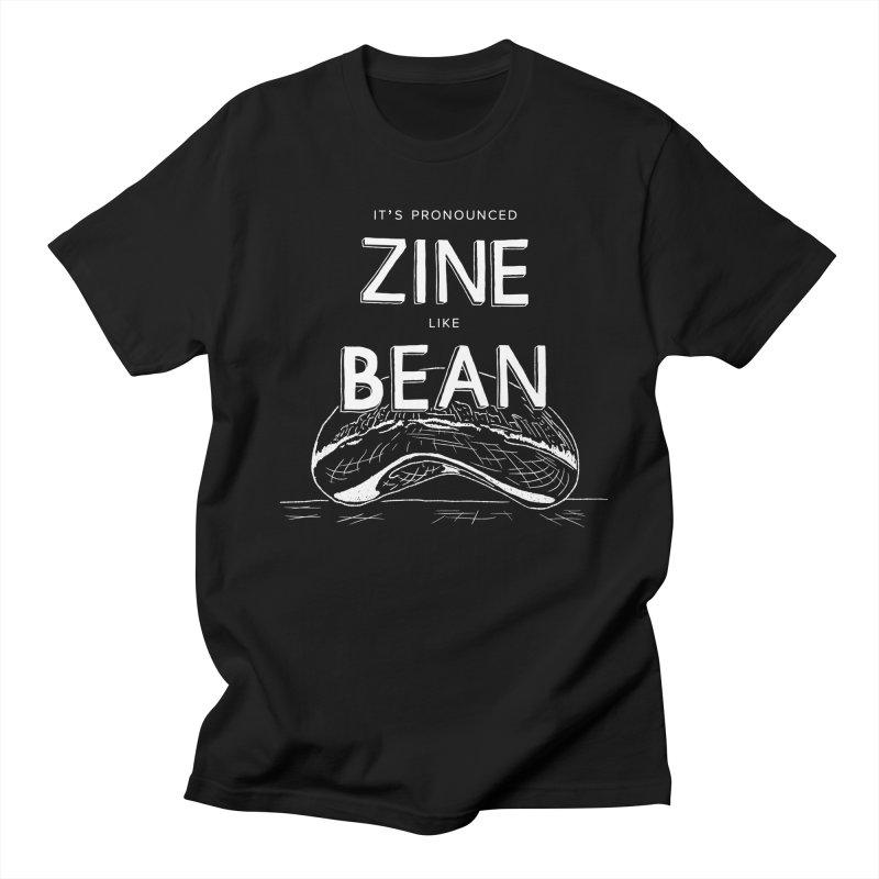 CZF - It's Pronounced Zine Men's T-Shirt by Chicago Zine Fest Merch