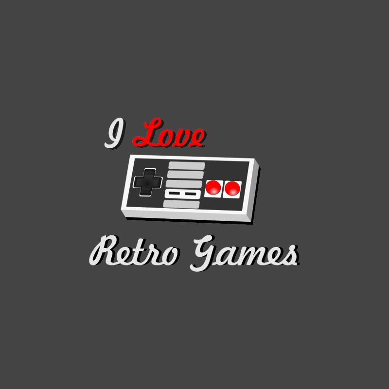 I Love Retro Games by chicharostudios's  Shop