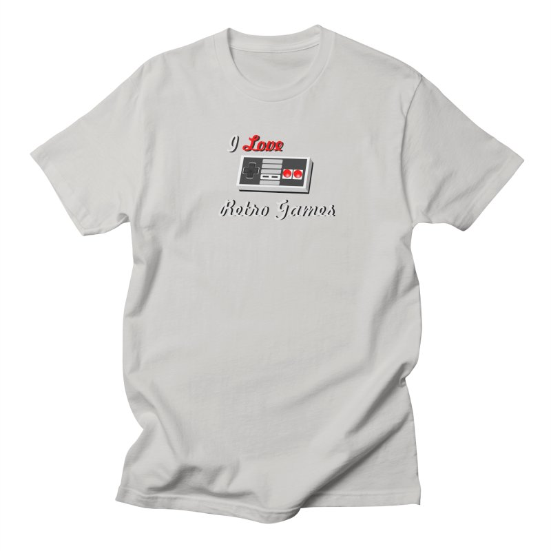 I Love Retro Games Men's Regular T-Shirt by chicharostudios's  Shop