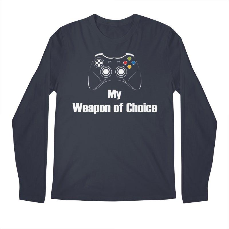 Weapon of choice Men's Regular Longsleeve T-Shirt by chicharostudios's  Shop