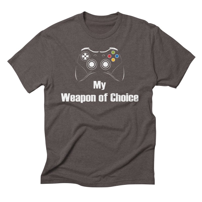 Weapon of choice Men's Triblend T-Shirt by chicharostudios's  Shop
