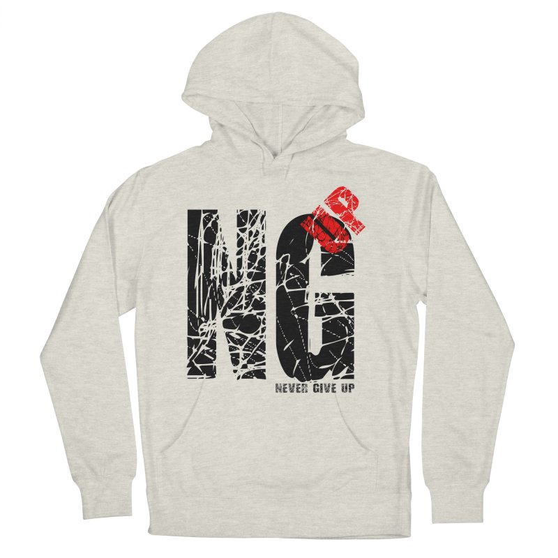 NG UP Men's French Terry Pullover Hoody by chicharostudios's  Shop