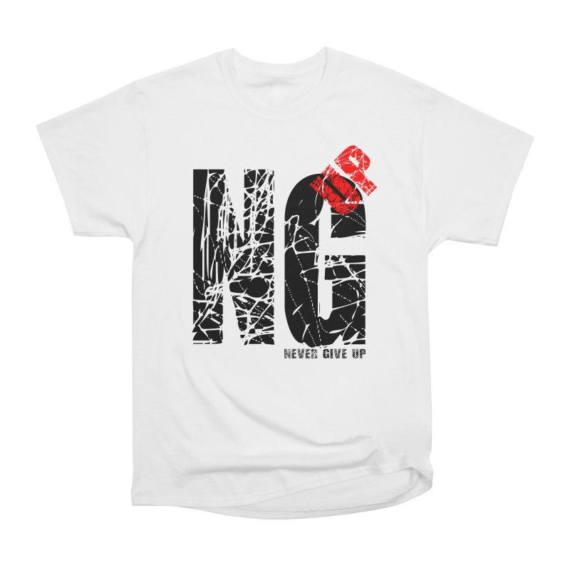 NG UP Men's Heavyweight T-Shirt by chicharostudios's  Shop