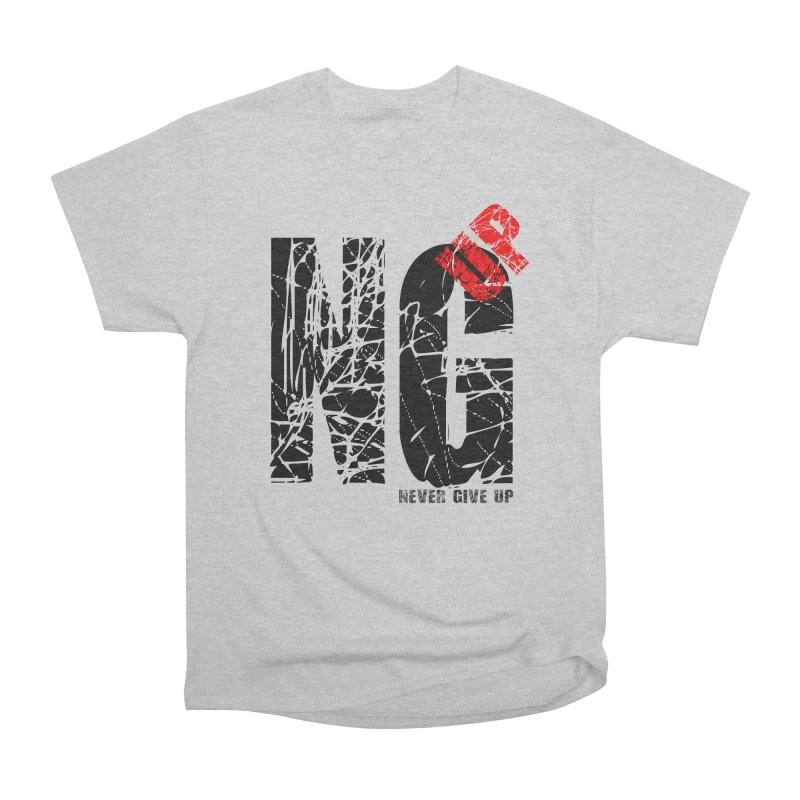 NG UP Men's Heavyweight T-Shirt by chicharostudios's  Shop