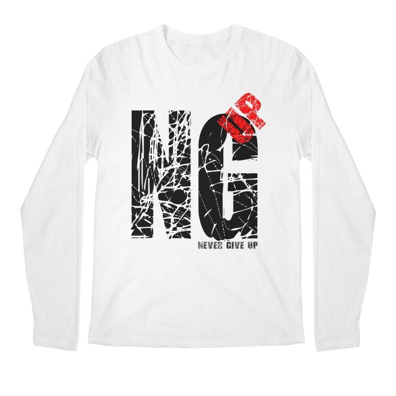 NG UP Men's Regular Longsleeve T-Shirt by chicharostudios's  Shop