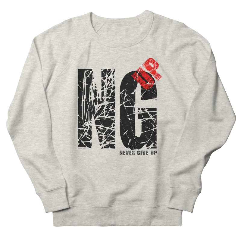 NG UP Men's French Terry Sweatshirt by chicharostudios's  Shop