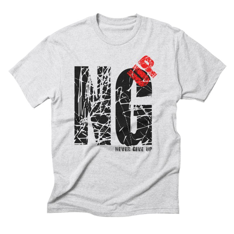 NG UP Men's Triblend T-Shirt by chicharostudios's  Shop