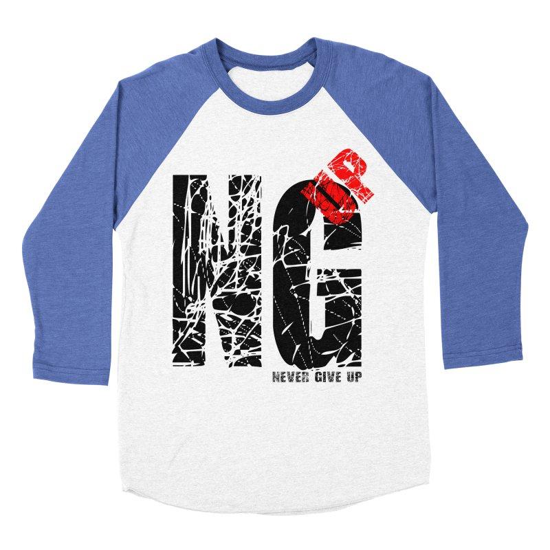 NG UP Men's Baseball Triblend Longsleeve T-Shirt by chicharostudios's  Shop