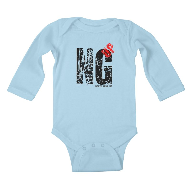 NG UP Kids Baby Longsleeve Bodysuit by chicharostudios's  Shop