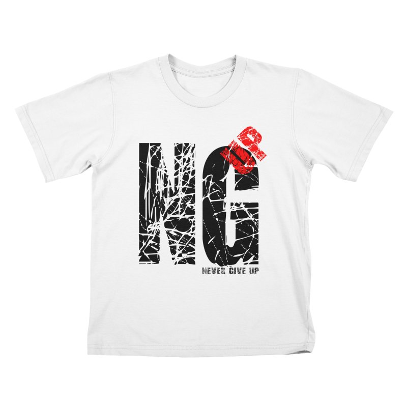 NG UP Kids T-Shirt by chicharostudios's  Shop