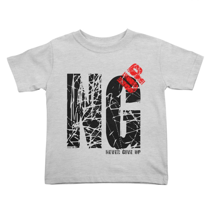 NG UP Kids Toddler T-Shirt by chicharostudios's  Shop