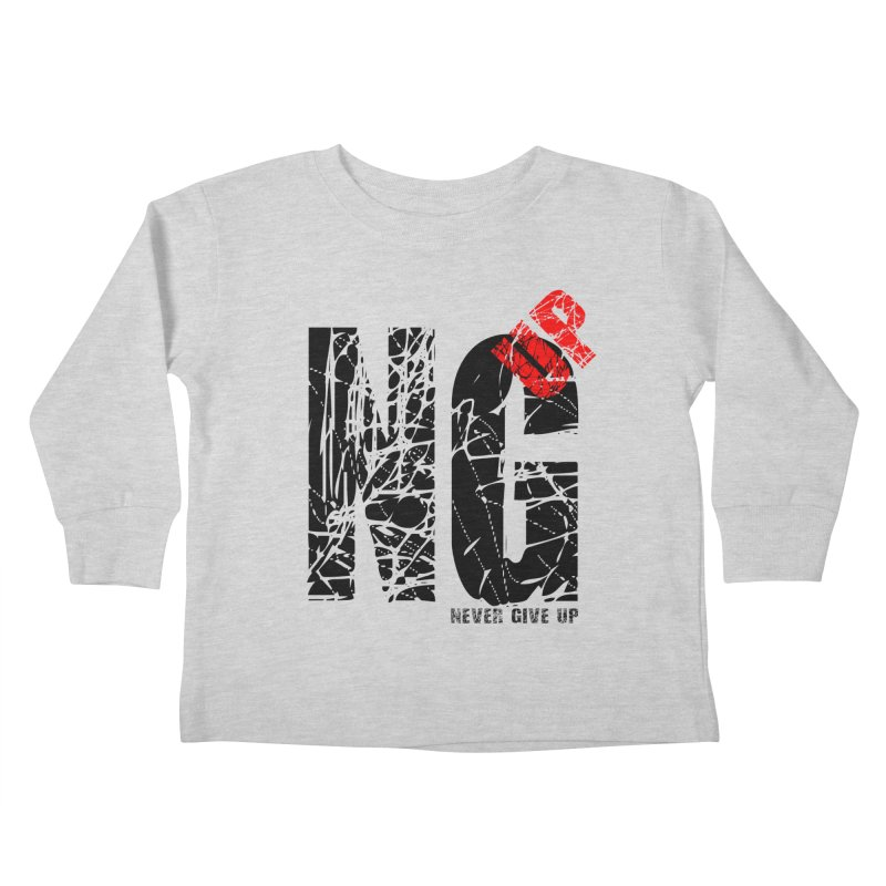 NG UP Kids Toddler Longsleeve T-Shirt by chicharostudios's  Shop