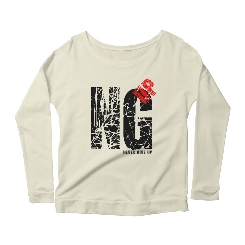 NG UP Women's Scoop Neck Longsleeve T-Shirt by chicharostudios's  Shop