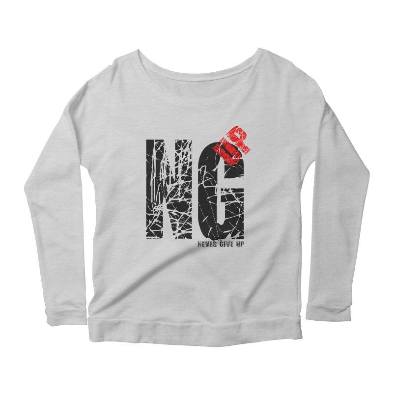 NG UP Women's Scoop Neck Longsleeve T-Shirt by chicharostudios's  Shop