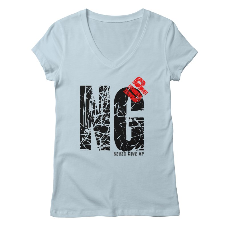 NG UP Women's Regular V-Neck by chicharostudios's  Shop