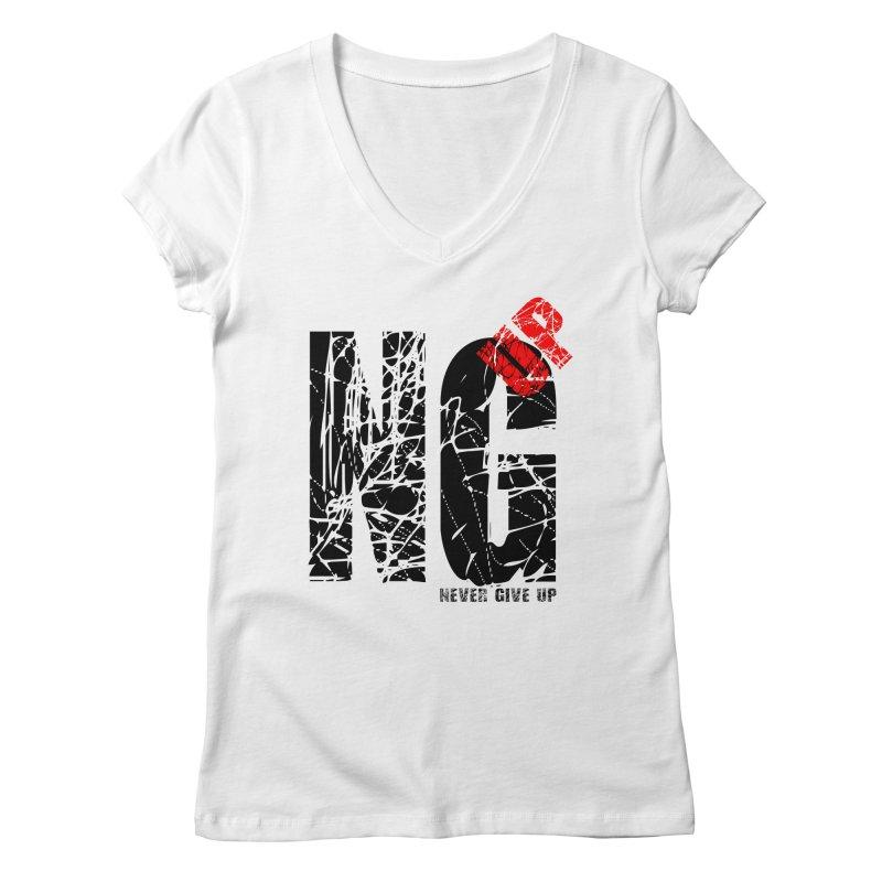 NG UP Women's Regular V-Neck by chicharostudios's  Shop