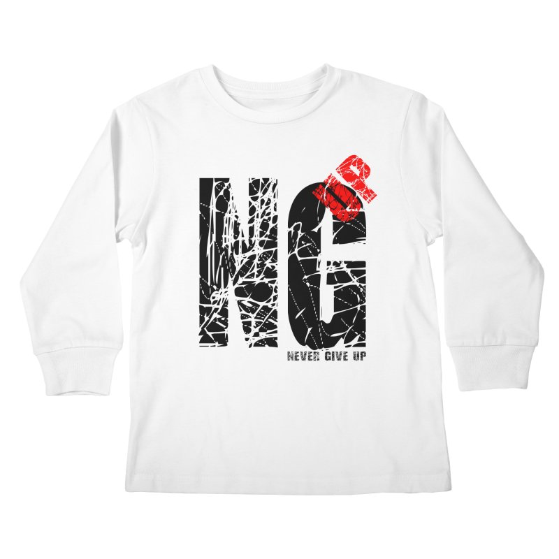 NG UP Kids Longsleeve T-Shirt by chicharostudios's  Shop