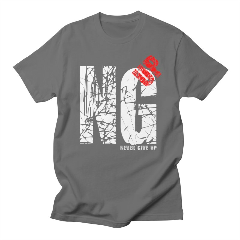 NG UP White Men's T-Shirt by chicharostudios's  Shop