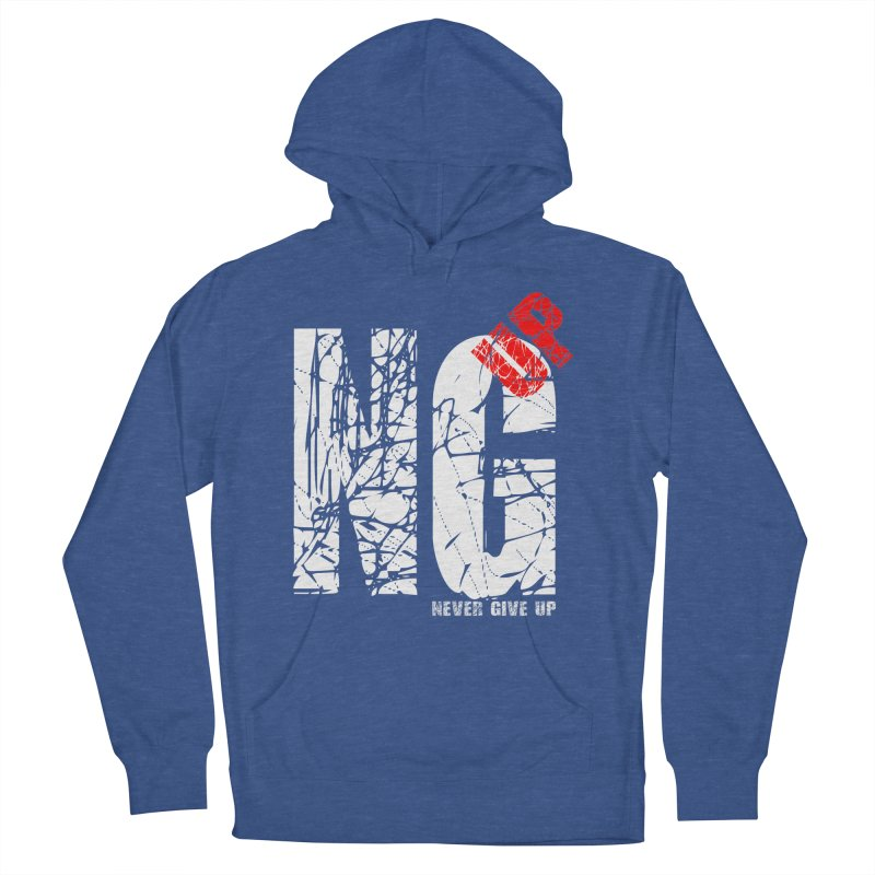 NG UP White Women's French Terry Pullover Hoody by chicharostudios's  Shop