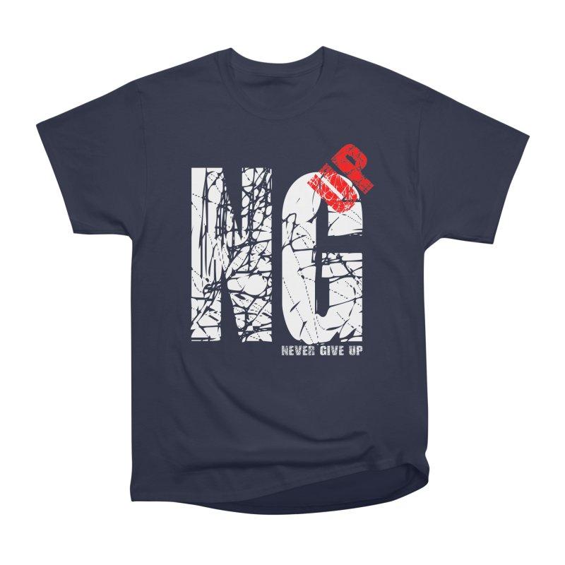 NG UP White Women's Heavyweight Unisex T-Shirt by chicharostudios's  Shop