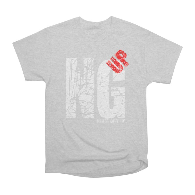 NG UP White Women's Heavyweight Unisex T-Shirt by chicharostudios's  Shop