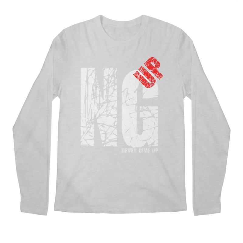 NG UP White Men's Regular Longsleeve T-Shirt by chicharostudios's  Shop