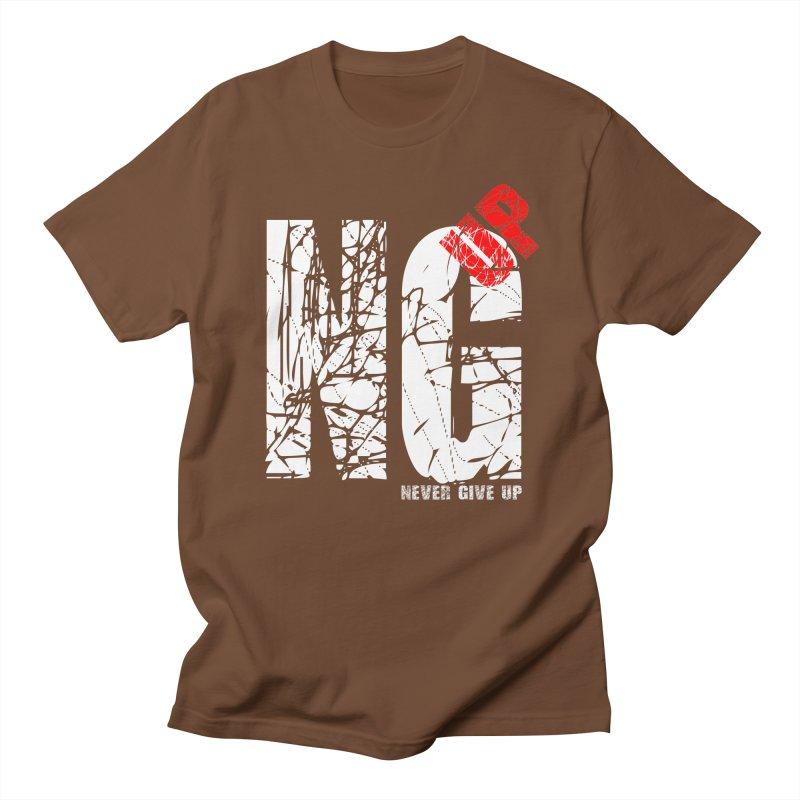 NG UP White Women's Regular Unisex T-Shirt by chicharostudios's  Shop