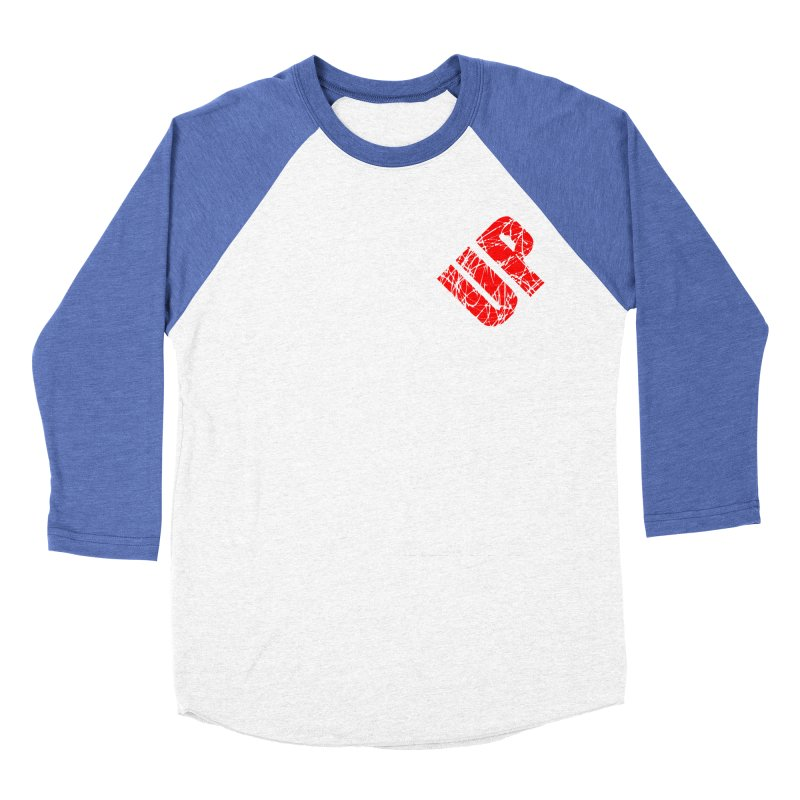 NG UP White Women's Baseball Triblend Longsleeve T-Shirt by chicharostudios's  Shop