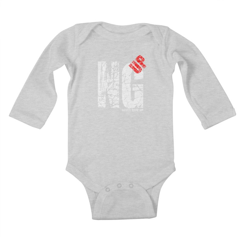 NG UP White Kids Baby Longsleeve Bodysuit by chicharostudios's  Shop
