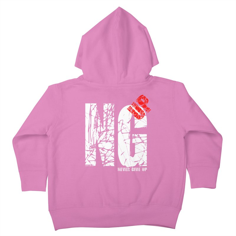 NG UP White Kids Toddler Zip-Up Hoody by chicharostudios's  Shop