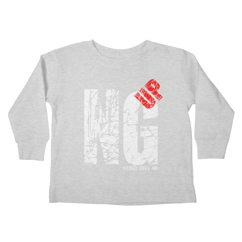 NG UP White Kids Toddler Longsleeve T-Shirt by chicharostudios's  Shop